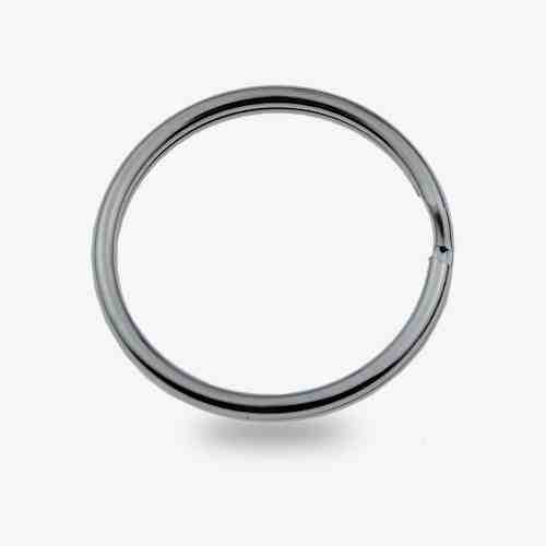 30mm Metal Keyring split ring