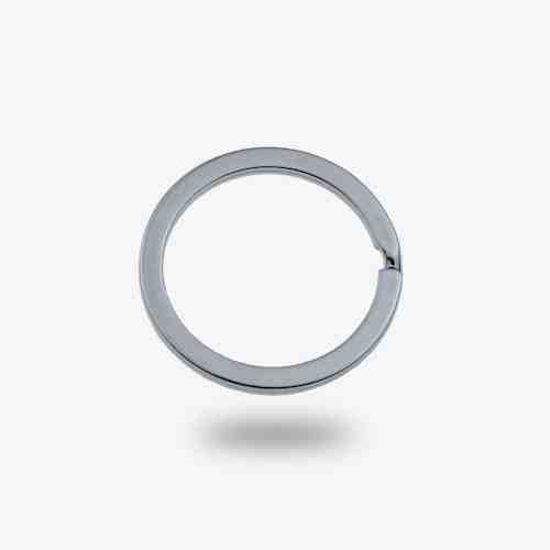 20mm Metal Flat keyring split ring