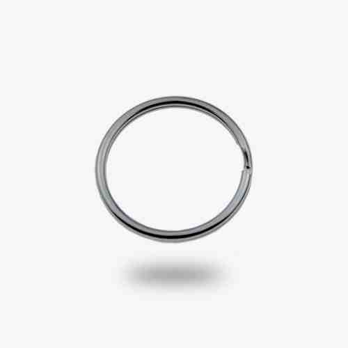 20mm Metal Keyring split ring